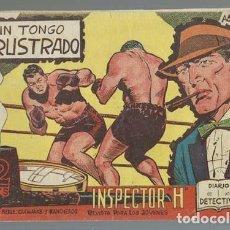 Tebeos: INSPECTOR H 21: UN TONGO FRUSTRADO, 1962, MAGA, BUEN ESTADO. Lote 133789014