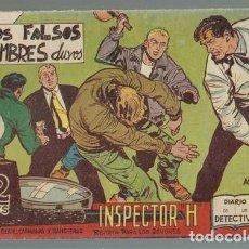 Tebeos: INSPECTOR H 24: LOS FALSOS HOMBRES DUROS, 1962, MAGA, MUY BUEN ESTADO. Lote 133789146