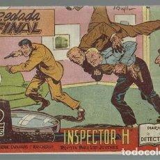 Tebeos: INSPECTOR H 28: REDADA FINAL, 1962, MAGA, MUY BUEN ESTADO. Lote 133789322