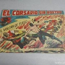 Tebeos: EL CORSARIO SIN ROSTRO Nº 34: EL VOLCÁN DE FUEGO / MAGA ORIGINAL. Lote 134000562