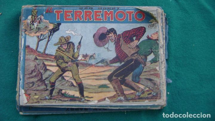 DAN BARRY EL TERREMOTO ORIGINALES VER NUMERACION Y DESCRIPCION CJ 5 (Tebeos y Comics - Maga - Dan Barry)
