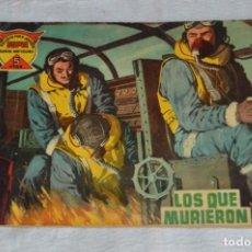 Tebeos: EL ESPIA - MAGA - Nº 12 - LOS QUE MURIERON - REVISTA PARA JÓVENES ESPÍA - SERIE METEORO. Lote 134607674