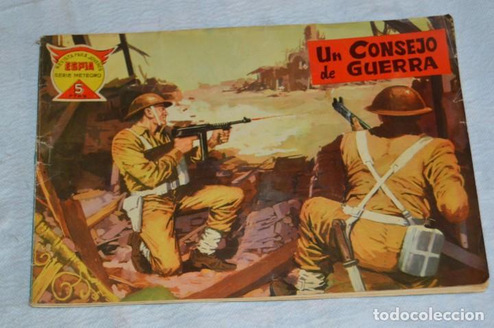 Tebeos: EL ESPIA - MAGA - Nº 42 - UN CONSEJO DE GUERRA - REVISTA PARA JÓVENES ESPÍA - SERIE METEORO - Foto 2 - 134608282