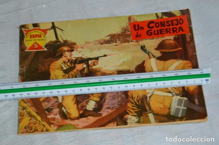 Tebeos: EL ESPIA - MAGA - Nº 42 - UN CONSEJO DE GUERRA - REVISTA PARA JÓVENES ESPÍA - SERIE METEORO - Foto 3 - 134608282