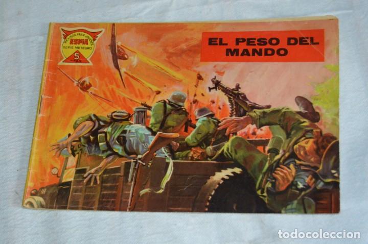 EL ESPIA - MAGA - Nº 45 - EL PESO DEL MANDO - REVISTA PARA JÓVENES ESPÍA - SERIE METEORO (Tebeos y Comics - Maga - Otros)