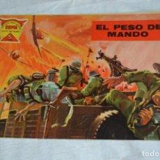 Tebeos: EL ESPIA - MAGA - Nº 45 - EL PESO DEL MANDO - REVISTA PARA JÓVENES ESPÍA - SERIE METEORO. Lote 134608862