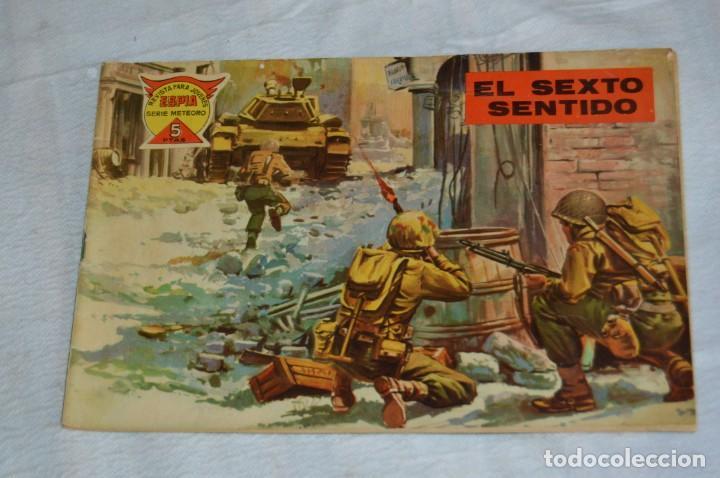 Tebeos: EL ESPIA - MAGA - Nº 47 - EL SEXTO SENTIDO - REVISTA PARA JÓVENES ESPÍA - SERIE METEORO - Foto 2 - 134609326