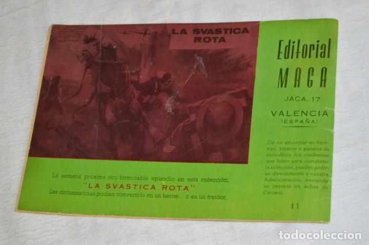 Tebeos: EL ESPIA - MAGA - Nº 47 - EL SEXTO SENTIDO - REVISTA PARA JÓVENES ESPÍA - SERIE METEORO - Foto 5 - 134609326