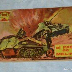 Tebeos: EL ESPIA - MAGA - Nº 52 - EL PASO DE MELINA - REVISTA PARA JÓVENES ESPÍA - SERIE METEORO. Lote 134609802