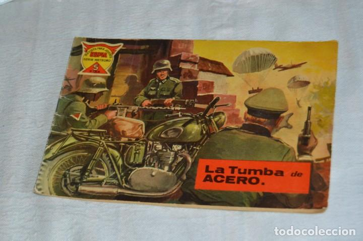 EL ESPIA - MAGA - Nº 55 - LA TUMBA DE ACERO - REVISTA PARA JÓVENES ESPÍA - SERIE METEORO (Tebeos y Comics - Maga - Otros)