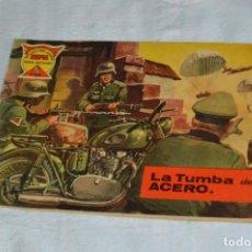 Tebeos: EL ESPIA - MAGA - Nº 55 - LA TUMBA DE ACERO - REVISTA PARA JÓVENES ESPÍA - SERIE METEORO. Lote 134610334