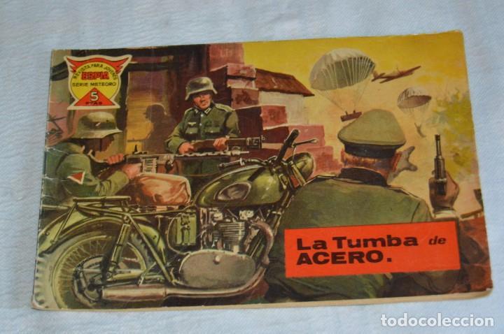 Tebeos: EL ESPIA - MAGA - Nº 55 - LA TUMBA DE ACERO - REVISTA PARA JÓVENES ESPÍA - SERIE METEORO - Foto 2 - 134610334