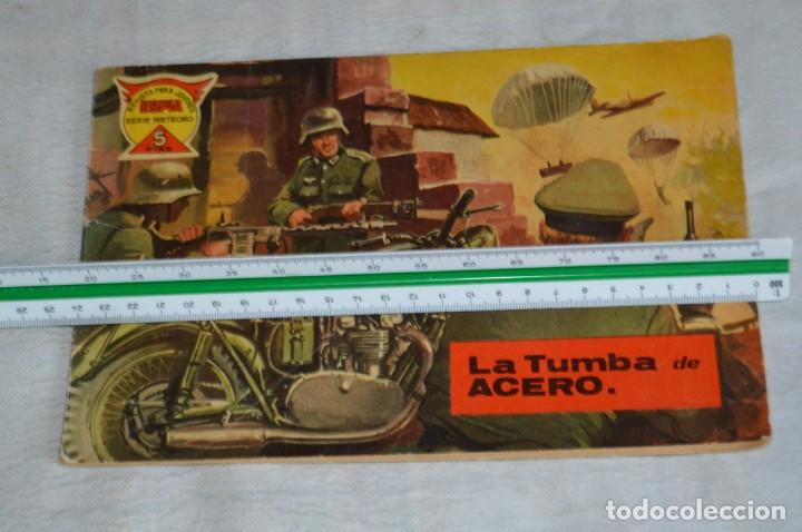 Tebeos: EL ESPIA - MAGA - Nº 55 - LA TUMBA DE ACERO - REVISTA PARA JÓVENES ESPÍA - SERIE METEORO - Foto 4 - 134610334