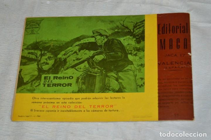 Tebeos: EL ESPIA - MAGA - Nº 55 - LA TUMBA DE ACERO - REVISTA PARA JÓVENES ESPÍA - SERIE METEORO - Foto 5 - 134610334