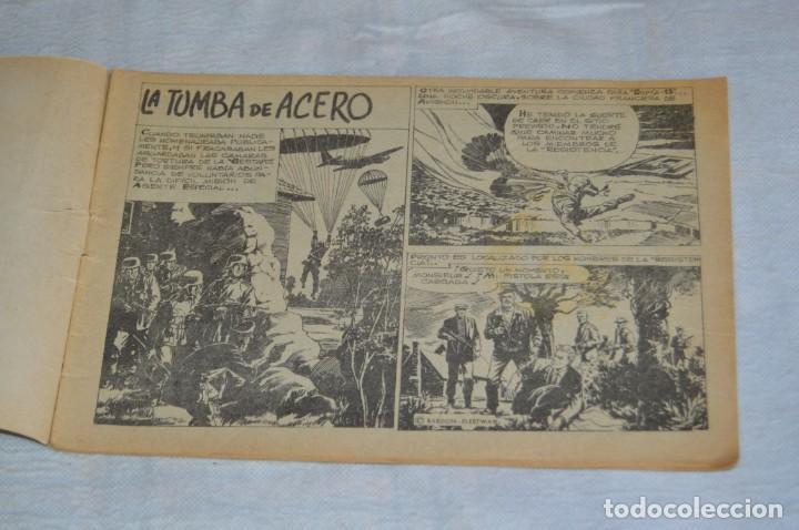 Tebeos: EL ESPIA - MAGA - Nº 55 - LA TUMBA DE ACERO - REVISTA PARA JÓVENES ESPÍA - SERIE METEORO - Foto 6 - 134610334