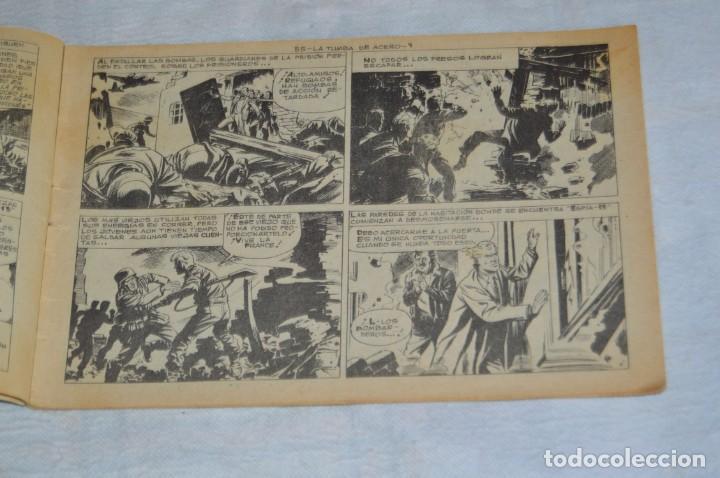 Tebeos: EL ESPIA - MAGA - Nº 55 - LA TUMBA DE ACERO - REVISTA PARA JÓVENES ESPÍA - SERIE METEORO - Foto 7 - 134610334