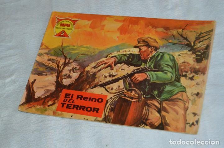EL ESPIA - MAGA - Nº 56 - EL REINO DEL TERROR - REVISTA PARA JÓVENES ESPÍA - SERIE METEORO (Tebeos y Comics - Maga - Otros)