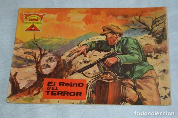 Tebeos: EL ESPIA - MAGA - Nº 56 - EL REINO DEL TERROR - REVISTA PARA JÓVENES ESPÍA - SERIE METEORO - Foto 2 - 134610810