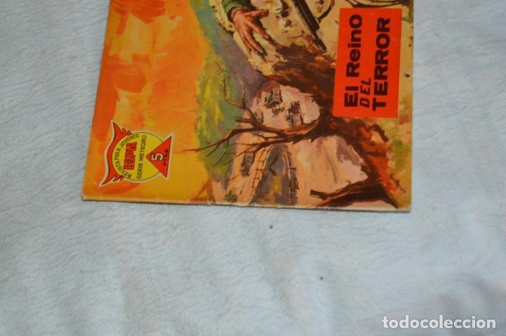 Tebeos: EL ESPIA - MAGA - Nº 56 - EL REINO DEL TERROR - REVISTA PARA JÓVENES ESPÍA - SERIE METEORO - Foto 3 - 134610810