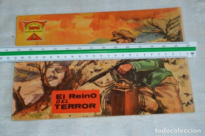 Tebeos: EL ESPIA - MAGA - Nº 56 - EL REINO DEL TERROR - REVISTA PARA JÓVENES ESPÍA - SERIE METEORO - Foto 4 - 134610810