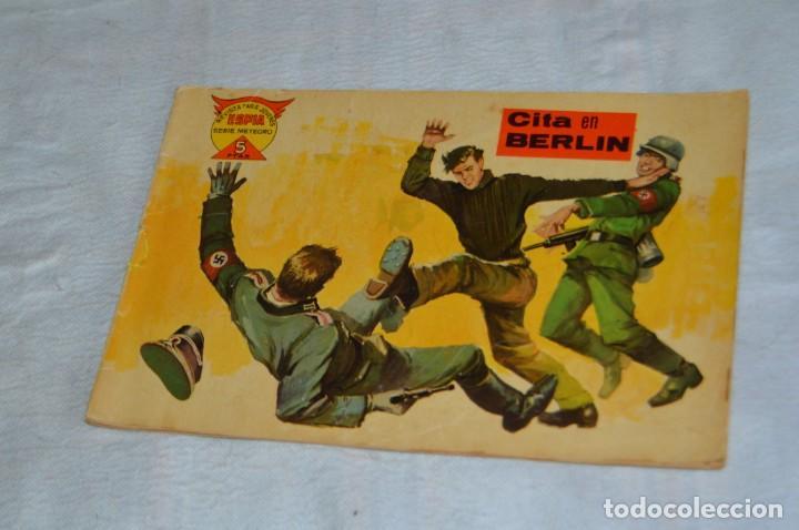 EL ESPIA - MAGA - Nº 57 - CITA EN BERLIN - REVISTA PARA JÓVENES ESPÍA - SERIE METEORO (Tebeos y Comics - Maga - Otros)