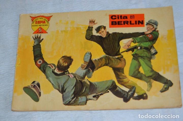 Tebeos: EL ESPIA - MAGA - Nº 57 - CITA EN BERLIN - REVISTA PARA JÓVENES ESPÍA - SERIE METEORO - Foto 2 - 134610854
