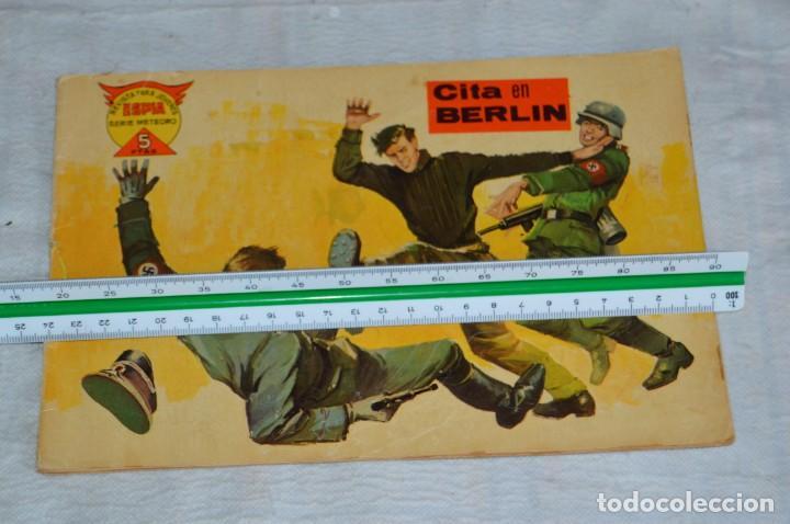 Tebeos: EL ESPIA - MAGA - Nº 57 - CITA EN BERLIN - REVISTA PARA JÓVENES ESPÍA - SERIE METEORO - Foto 4 - 134610854