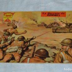 Tebeos: EL ESPIA - MAGA - Nº 59 - LA DERROTA DE ROMMEL - REVISTA PARA JÓVENES ESPÍA - SERIE METEORO. Lote 134612414