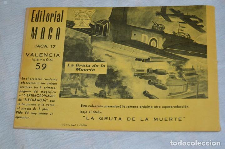 Tebeos: EL ESPIA - MAGA - Nº 59 - LA DERROTA DE ROMMEL - REVISTA PARA JÓVENES ESPÍA - SERIE METEORO - Foto 5 - 134612414