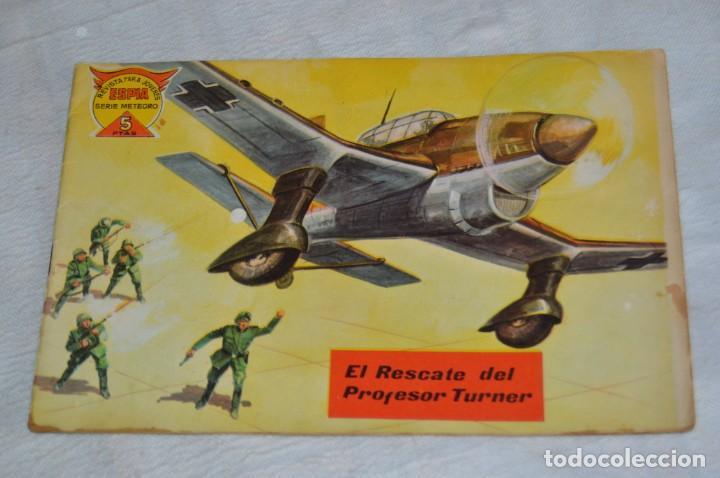 Tebeos: REVISTA MAGA - Nº 61 - EL RESCATE DEL PROFESOR TURNER - REVISTA PARA JÓVENES ESPÍA - SERIE METEORO - Foto 2 - 134613910