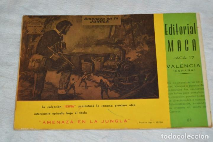Tebeos: REVISTA MAGA - Nº 61 - EL RESCATE DEL PROFESOR TURNER - REVISTA PARA JÓVENES ESPÍA - SERIE METEORO - Foto 5 - 134613910