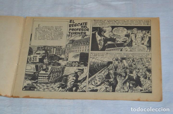 Tebeos: REVISTA MAGA - Nº 61 - EL RESCATE DEL PROFESOR TURNER - REVISTA PARA JÓVENES ESPÍA - SERIE METEORO - Foto 6 - 134613910