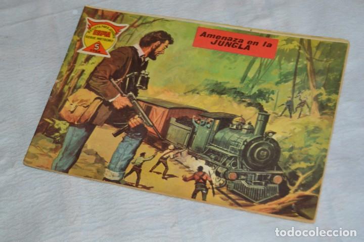 EL ESPIA - MAGA - Nº 62 - AMENAZA EN LA JUNGLA - REVISTA PARA JÓVENES ESPÍA - SERIE METEORO (Tebeos y Comics - Maga - Otros)