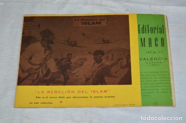Tebeos: EL ESPIA - MAGA - Nº 62 - AMENAZA EN LA JUNGLA - REVISTA PARA JÓVENES ESPÍA - SERIE METEORO - Foto 5 - 134614402