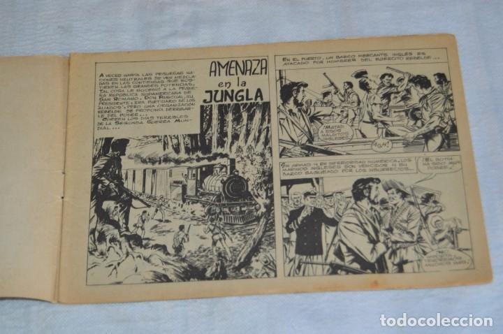 Tebeos: EL ESPIA - MAGA - Nº 62 - AMENAZA EN LA JUNGLA - REVISTA PARA JÓVENES ESPÍA - SERIE METEORO - Foto 6 - 134614402
