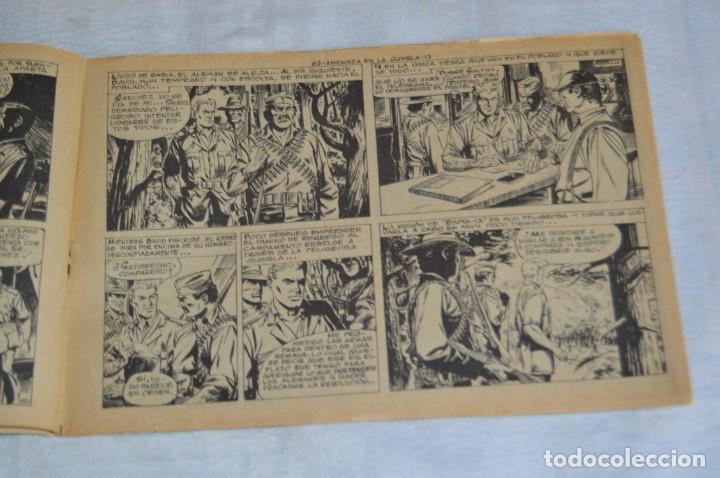 Tebeos: EL ESPIA - MAGA - Nº 62 - AMENAZA EN LA JUNGLA - REVISTA PARA JÓVENES ESPÍA - SERIE METEORO - Foto 7 - 134614402