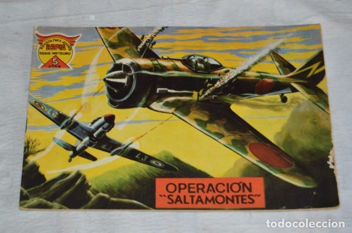 Tebeos: EL ESPIA - MAGA - Nº 67 - OPERACIÓN SALTAMONTES - REVISTA PARA JÓVENES ESPÍA - SERIE METEORO - Foto 2 - 134614978