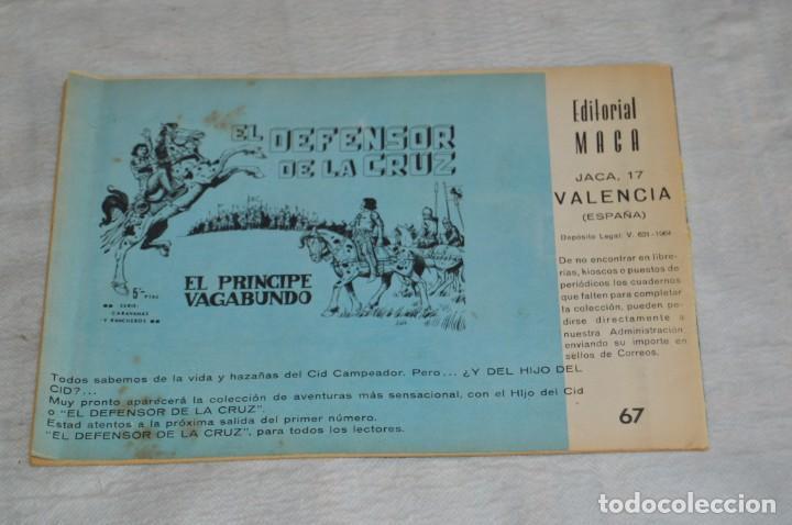 Tebeos: EL ESPIA - MAGA - Nº 67 - OPERACIÓN SALTAMONTES - REVISTA PARA JÓVENES ESPÍA - SERIE METEORO - Foto 5 - 134614978