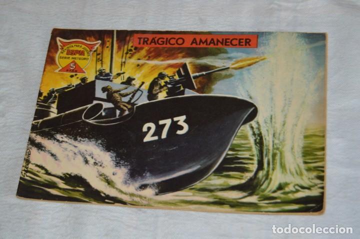 EL ESPIA - MAGA - Nº 68 - TRÁGICO AMANECER - REVISTA PARA JÓVENES ESPÍA - SERIE METEORO (Tebeos y Comics - Maga - Otros)
