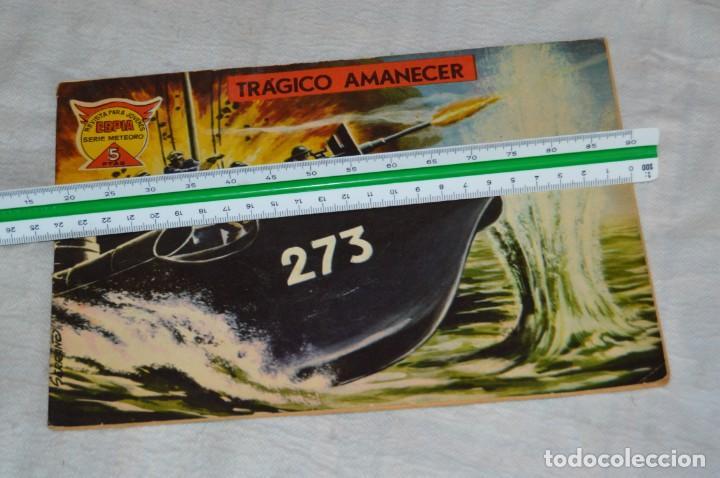Tebeos: EL ESPIA - MAGA - Nº 68 - TRÁGICO AMANECER - REVISTA PARA JÓVENES ESPÍA - SERIE METEORO - Foto 4 - 134615470