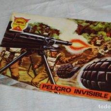 Tebeos: EL ESPIA - MAGA - Nº 71 - PELIGRO INVISIBLE - REVISTA PARA JÓVENES ESPÍA - SERIE METEORO. Lote 134615834