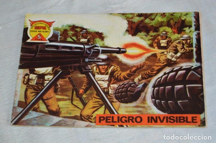 Tebeos: EL ESPIA - MAGA - Nº 71 - PELIGRO INVISIBLE - REVISTA PARA JÓVENES ESPÍA - SERIE METEORO - Foto 2 - 134615834