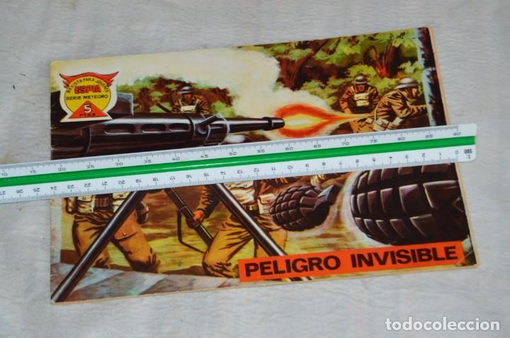 Tebeos: EL ESPIA - MAGA - Nº 71 - PELIGRO INVISIBLE - REVISTA PARA JÓVENES ESPÍA - SERIE METEORO - Foto 4 - 134615834