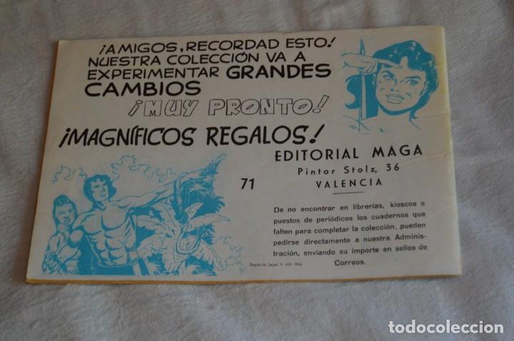Tebeos: EL ESPIA - MAGA - Nº 71 - PELIGRO INVISIBLE - REVISTA PARA JÓVENES ESPÍA - SERIE METEORO - Foto 5 - 134615834