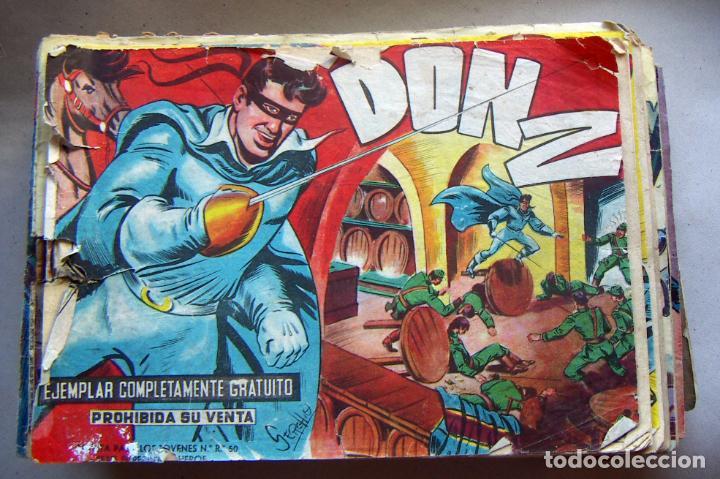 DON Z. EDITORIAL MAGA 1959. COLECCION 89 EJEMPLARES SOLO FALTA EL ÚLTIMO Nª 90 (Tebeos y Comics - Maga - Don Z)