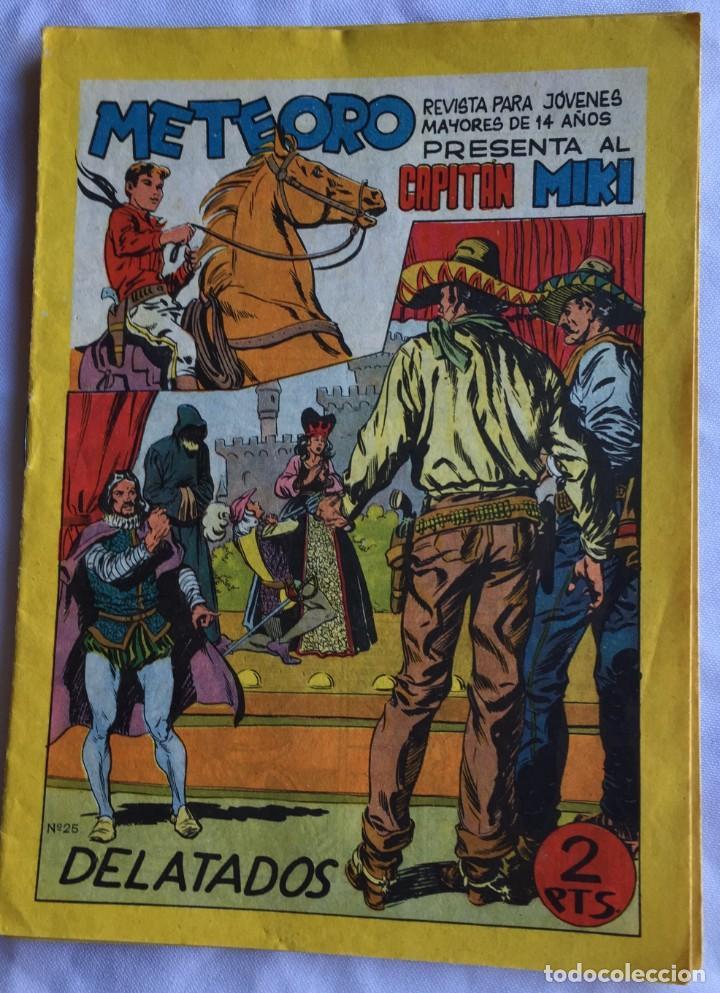 CAPITÁN MIKI Nº 25 (Tebeos y Comics - Maga - Otros)