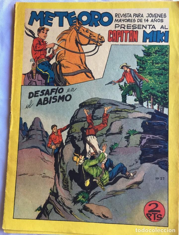 CAPITÁN MIKI Nº 27 (Tebeos y Comics - Maga - Otros)