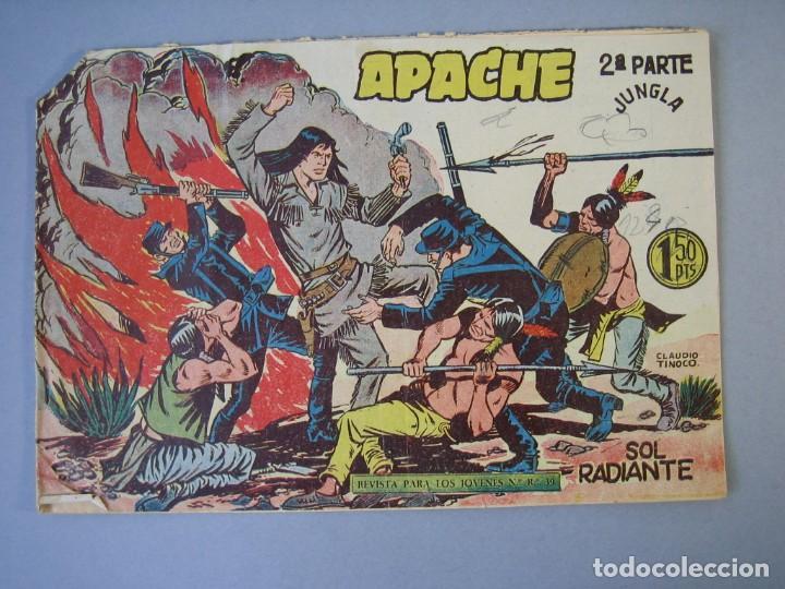 APACHE (1960, MAGA) -2ª PARTE- 29 · 4-XI-1960 · SOL RADIANTE (Tebeos y Comics - Maga - Apache)