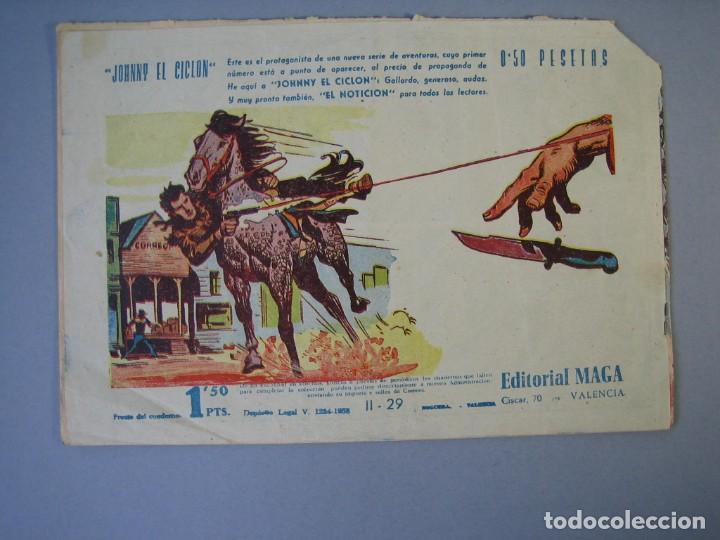 Tebeos: APACHE (1960, MAGA) -2ª PARTE- 29 · 4-XI-1960 · SOL RADIANTE - Foto 2 - 135766570