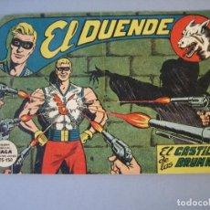 Tebeos: DUENDE, EL (1961, MAGA) 2 · 1-II-1961 · EL CASTILLO DE LAS BRUMAS. Lote 135782270